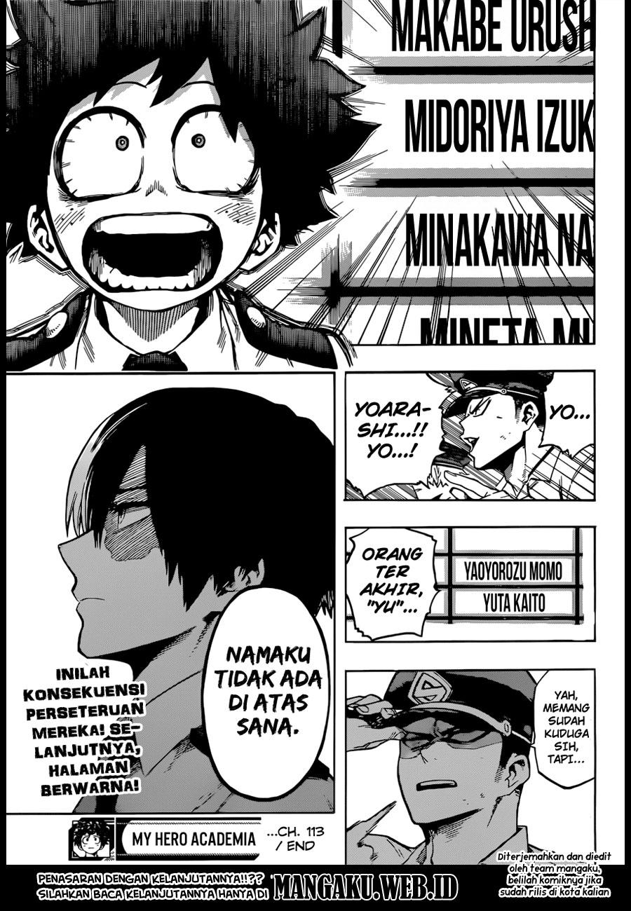 Boku no Hero Academia Chapter 113-17