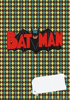 capas de caderno batman meninos para imprimir gratis