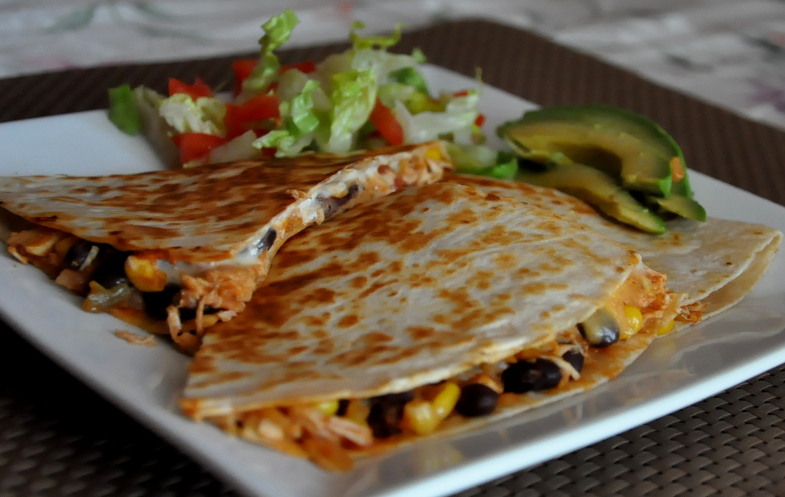 What's Cooking at Richard's ??: Healthy Chicken Quesadillas