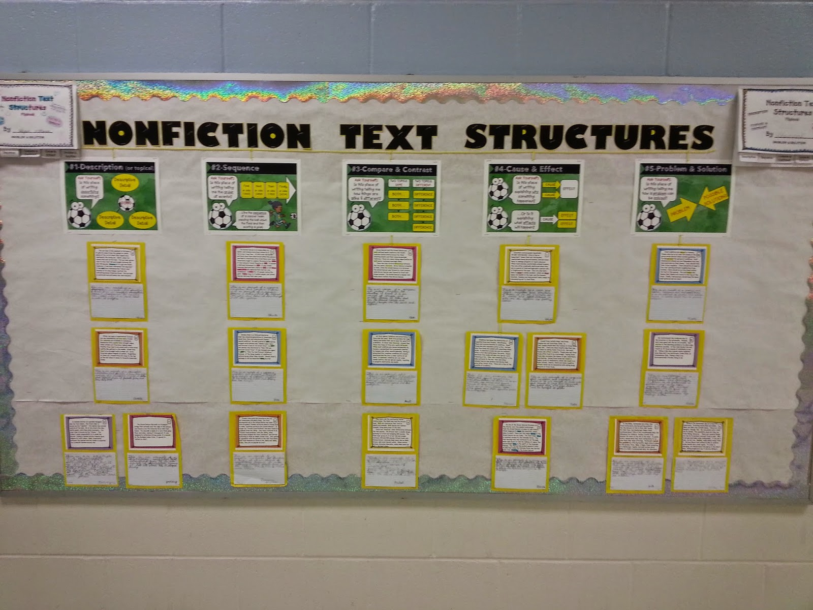 The Core of Grade 4 Nonfiction Text Structures – Text Structures Worksheet