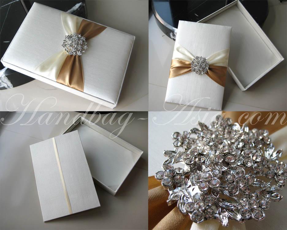 Wedding Invitation Boxes | Silk Invitation | Couture Invitations ...