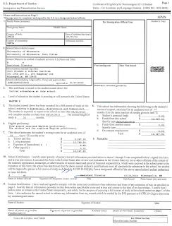 Sample I-20 Form ~ GRE Books Download