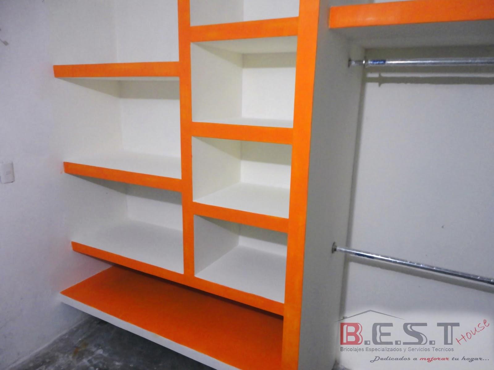 Bricobest by b e s t house for Closet de tablaroca modernos