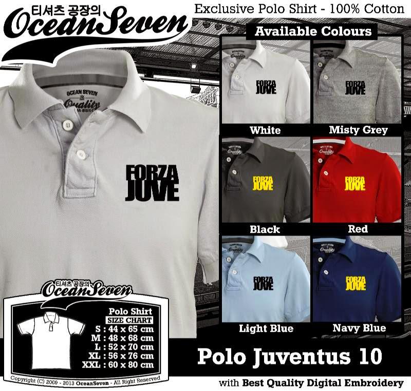 Kaos Polo Juventus 10