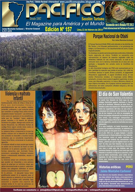 Revista Pacífico Nº 157 Turismo