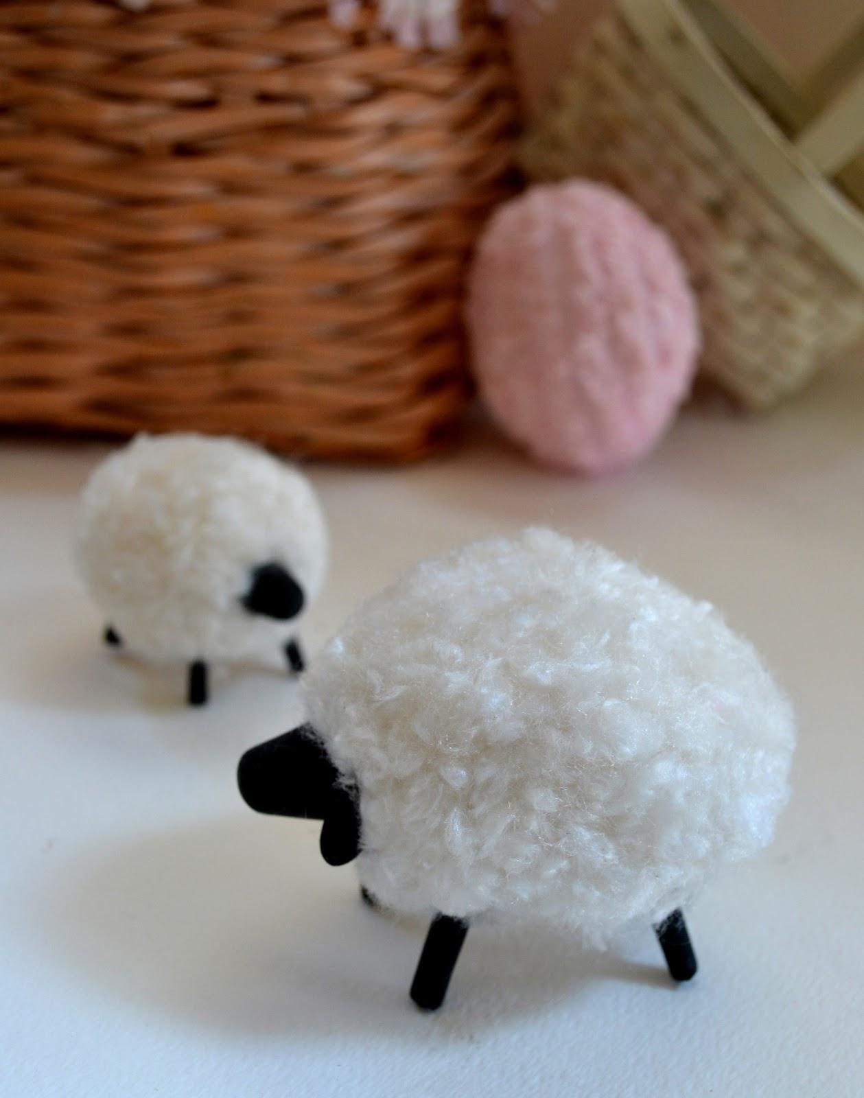 jennuine by rook no 17 easter craft how to make a pompom sheep