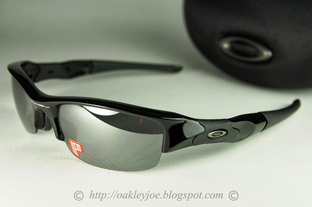 oakley flak black iridium