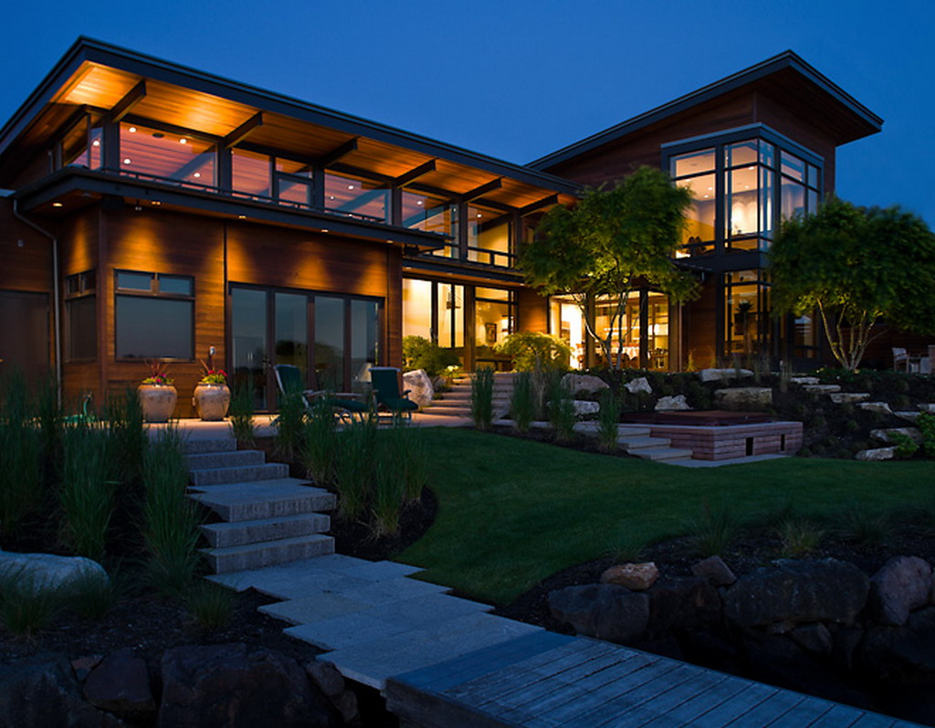 Contemporary Lake House Designs