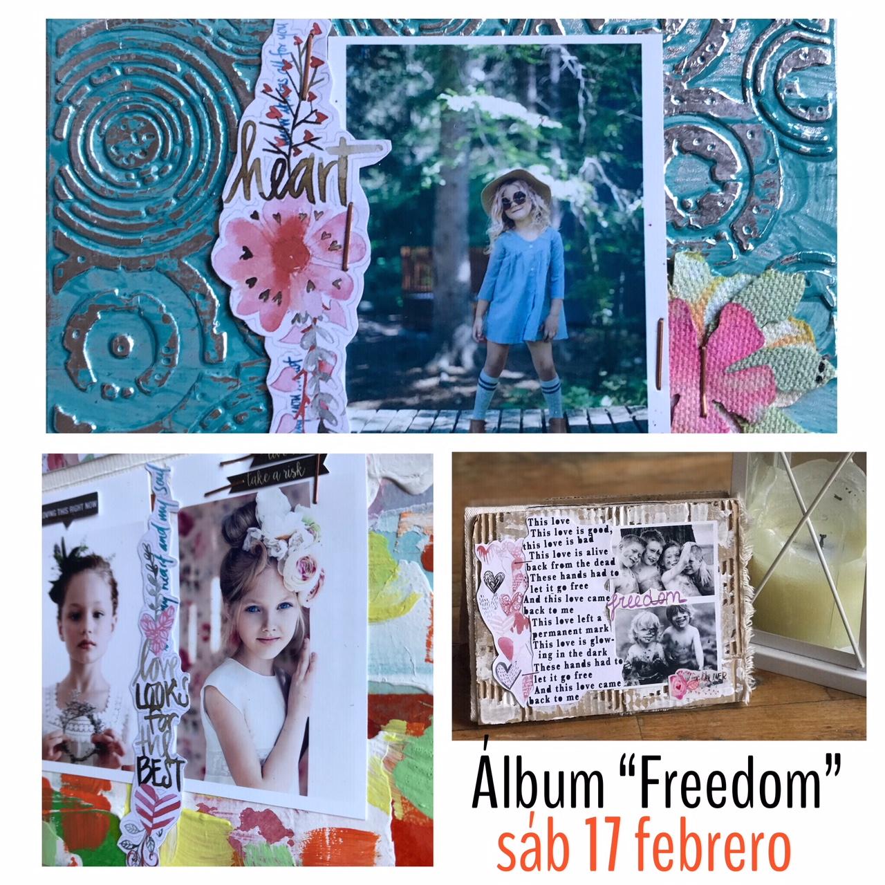 "Trossets de Paper                                                   Álbum ""Freedom"""