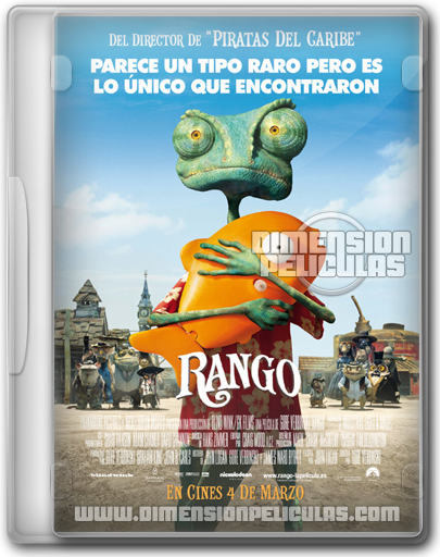 Rango (DVDRip Esp.Latino) (2011)
