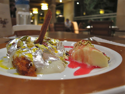 Dessert at Kababs & Kurries Hyderabad