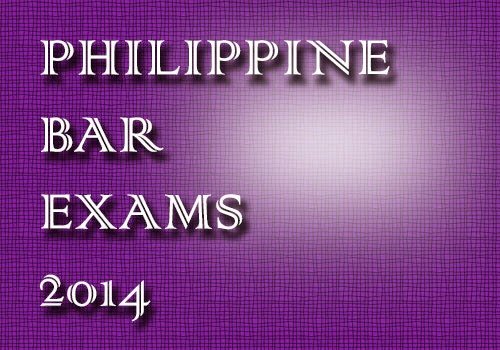 6,344 to take 2014 Philippine Bar Exams
