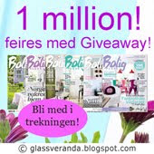 Giveaway hos Glassveranda