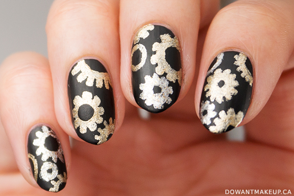 Nail art: inspired by butter London Steampunk Ball