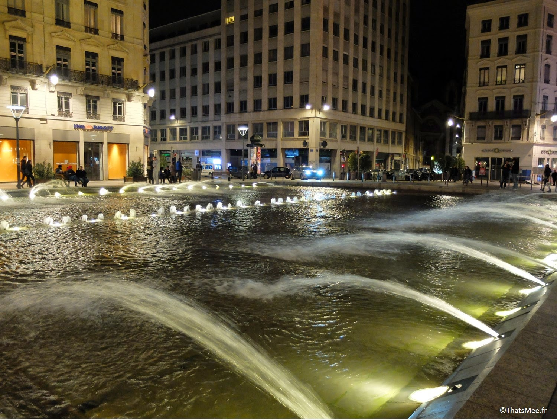 Fontaine rue Grolée Lyon centre visiter ThatsMee.fr