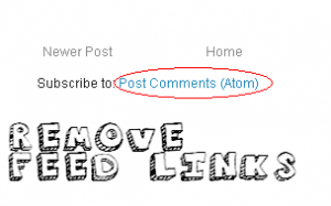 Delete Subscribe to Post Atom