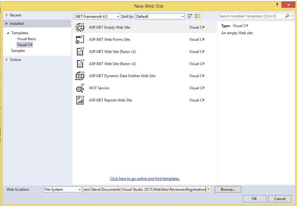 Asp.Net Web Service File