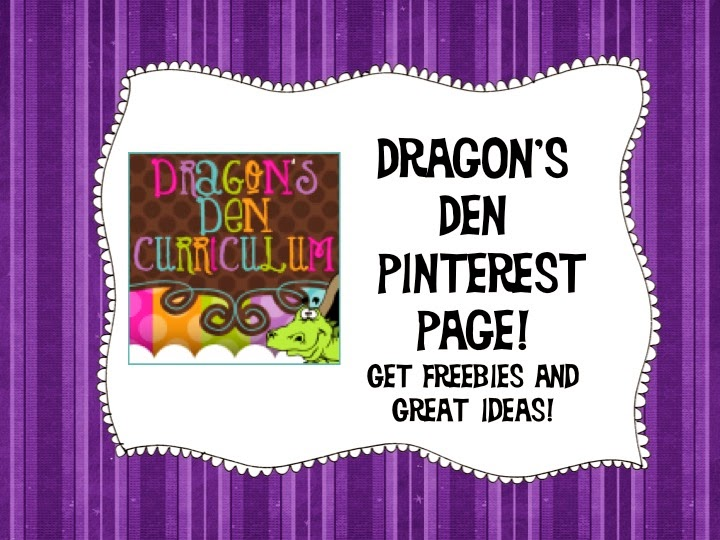 Join over 8,000 other teachers by following me on Pinterest!