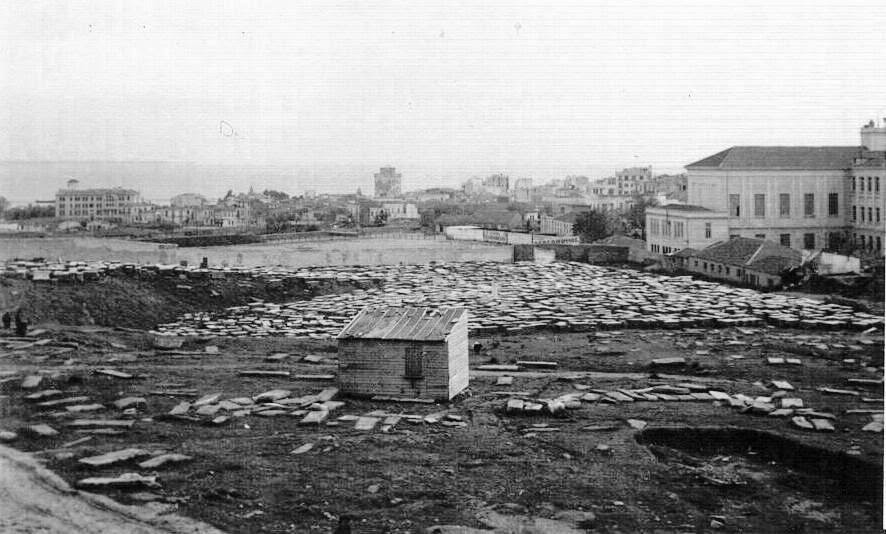 Former Jewish Cemetery of Salonika