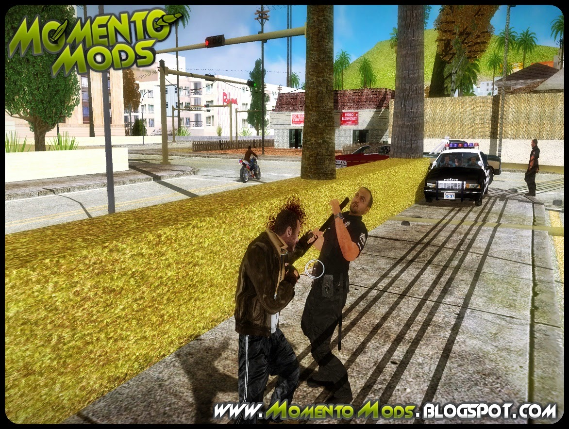 GTA SA - Mod Mira Do GTA IV Para GTA San Andreas