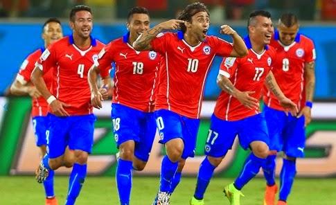 Goles del partido CHILE 3 vs 1 AUSTRALIA