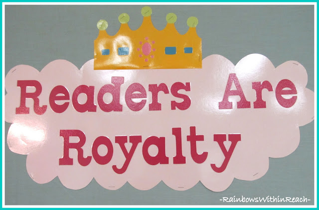photo of: Bulletin Board: &quot;Readers are Royalty&quot; 