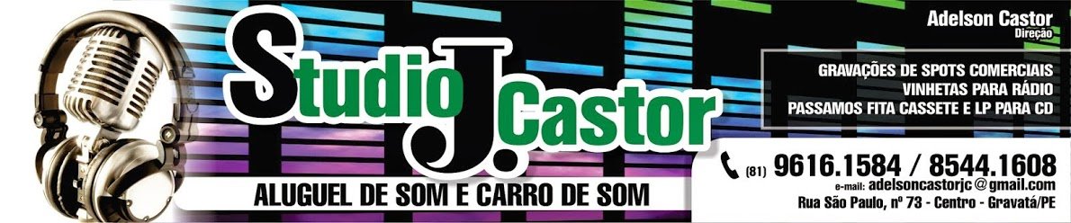 RÁDIO WEB STUDIO J.CASTOR