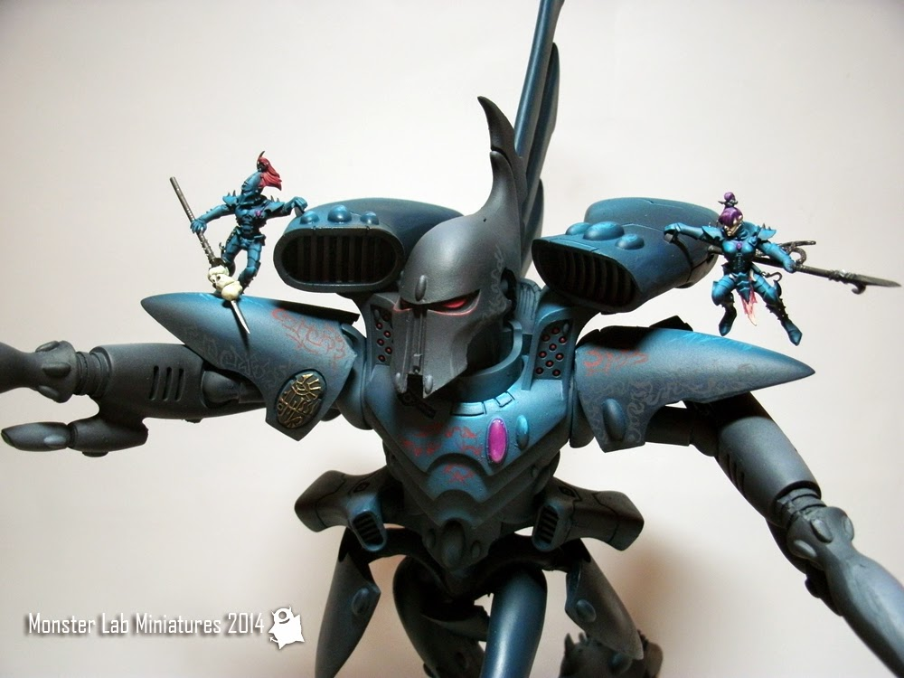 Monster Lab Miniatures Showcase Dark Eldar Titan