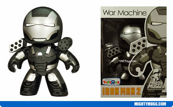 War Machine Iron Man 2 Marvel Mighty Muggs Exclusives