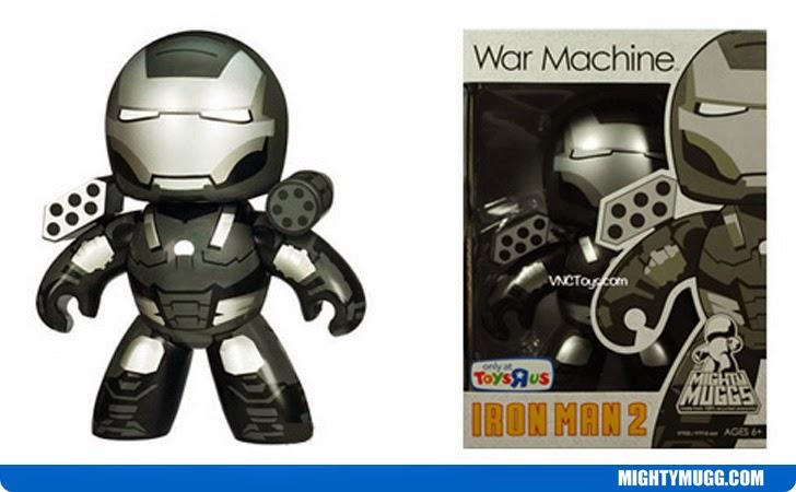 War Machine Iron Man 2 Marvel Mighty Muggs Exclusives