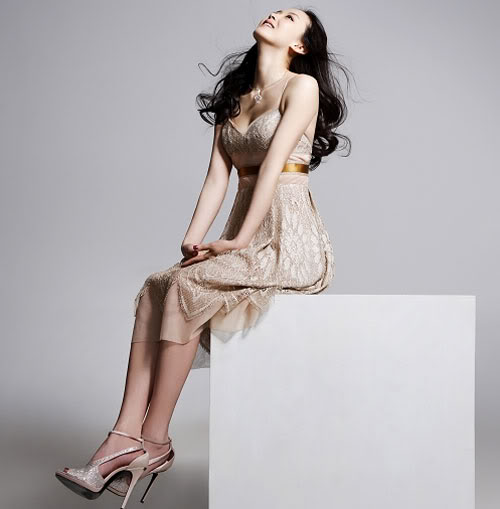 Actress Wang Yan