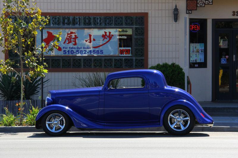 California Streets Castro Valley Street Sighting 1934