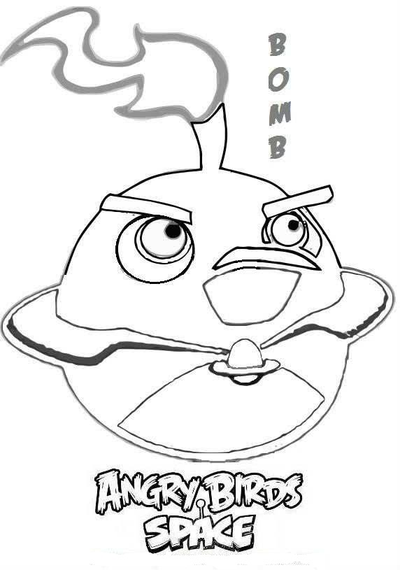 Angry Birds 100%: Pinta y Colorea todos Angry Birds Space