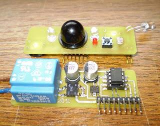 interruptor por aproximação com PIC