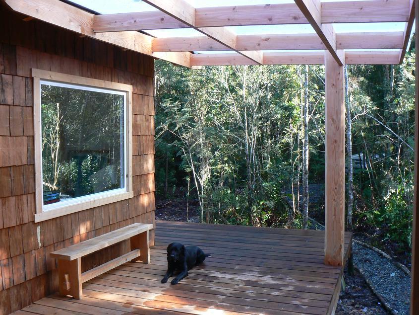 Dise os y construcciones en madera julio 2012 for Terrazas rusticas techadas