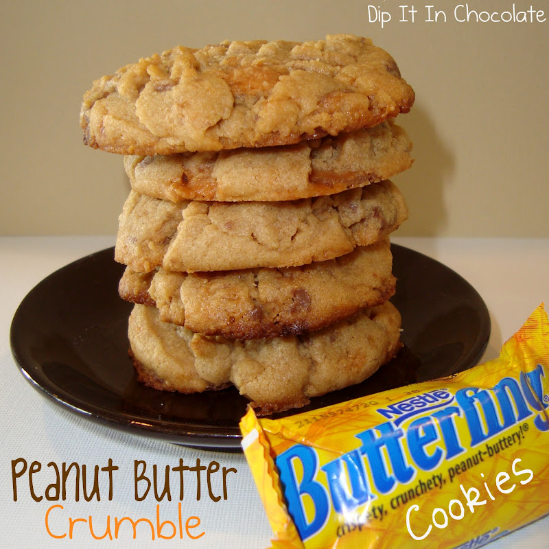 ... cookies crumbly peanut buttery butterfinger y delicious also it s a