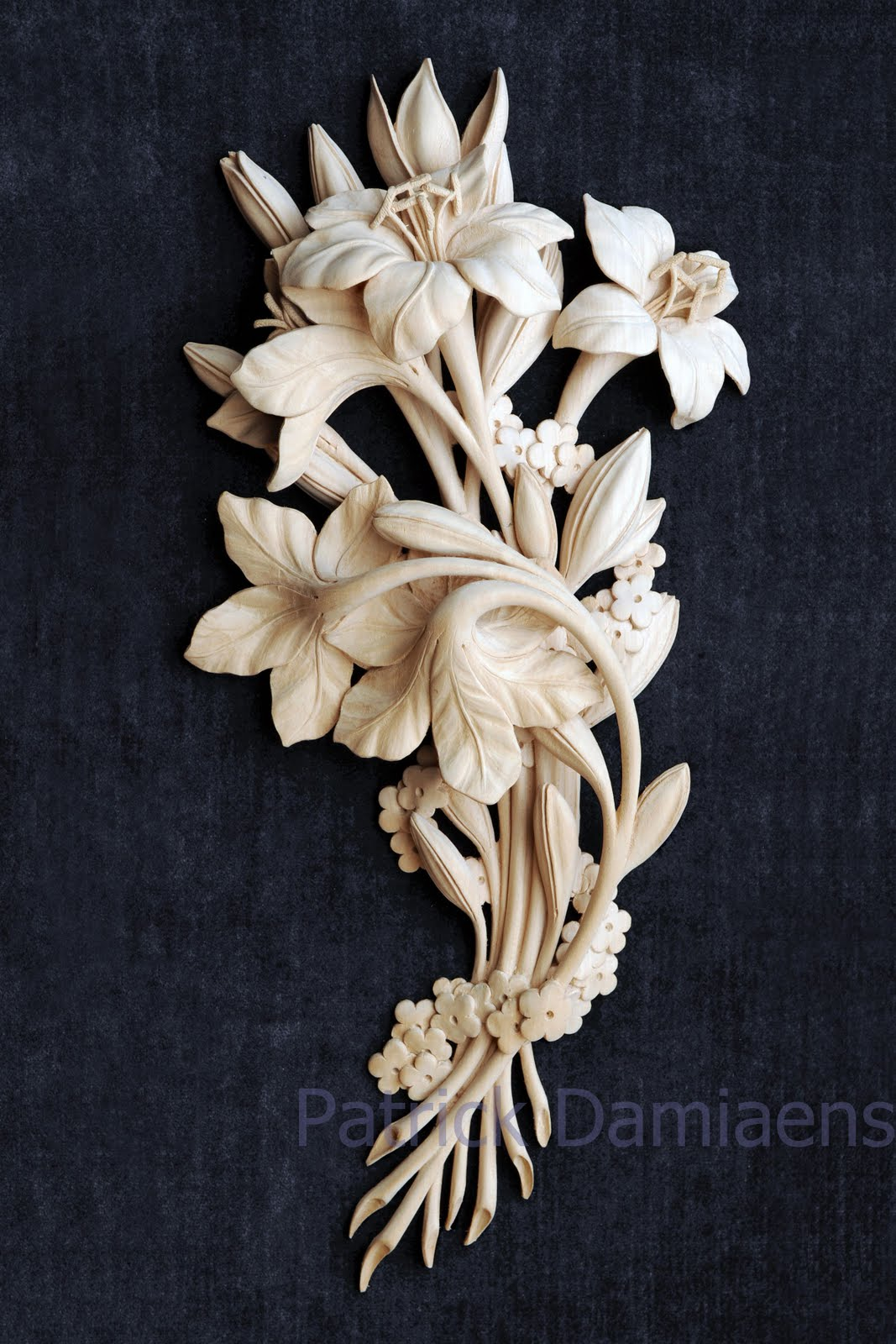 Patrick damiaens ornamental woodcarving grinling