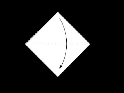 Cara Membuat Origami Wajah Anjing