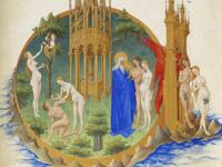 Le Jardin d'Eden, Très Riches Heures du duc de Berry