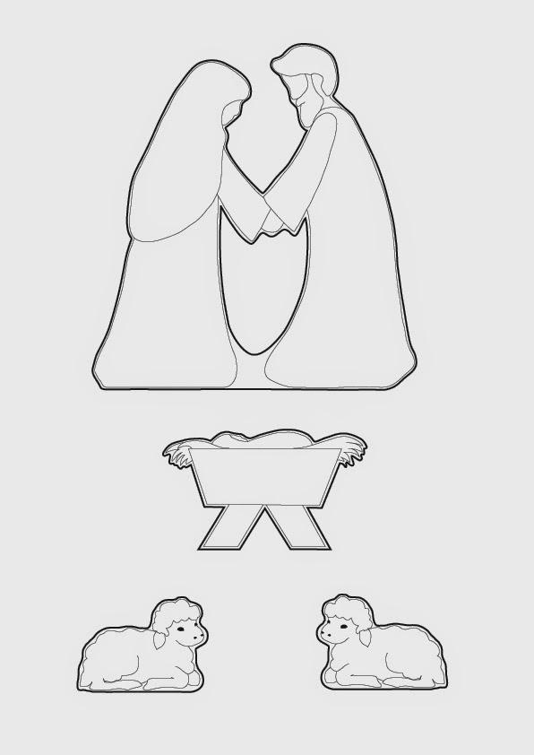 elaine s sweet life gingerbread nativity tutorial