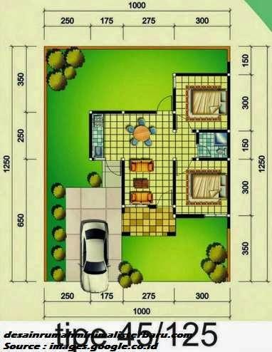 desain rumah minimalis type 45 8
