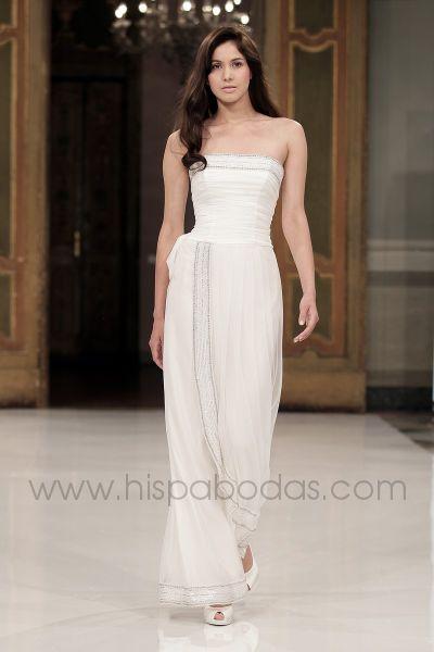 Vestidos color blanco para boda civil