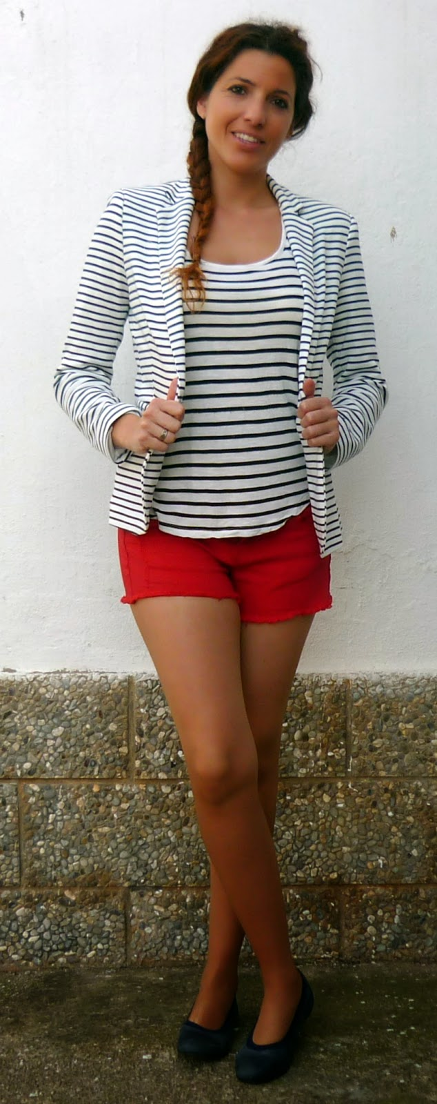 blazer rayas marineras