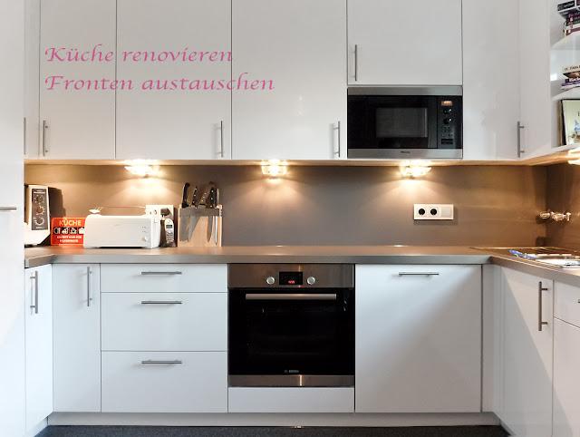 Neue Fronten für die Küche, moderne Haushaltsgeräte für eine alte Küche