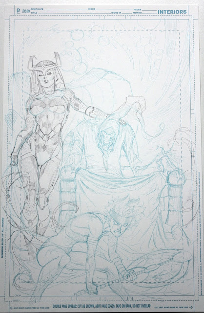 WORLDS END cover process