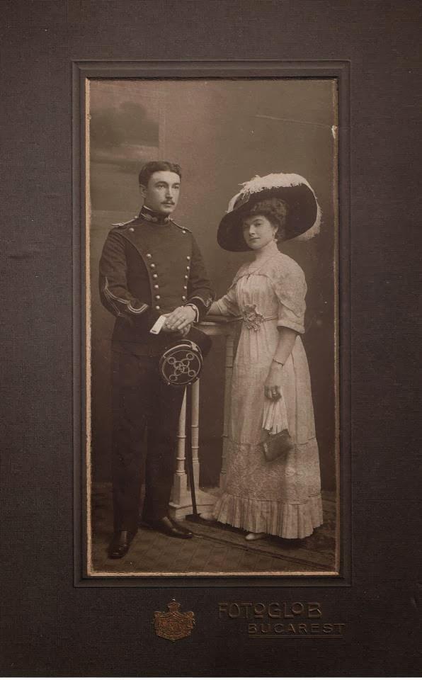 Portrete de epoca - cuplu