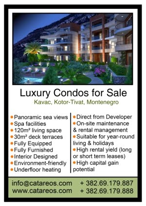 Property for sale in Tivat