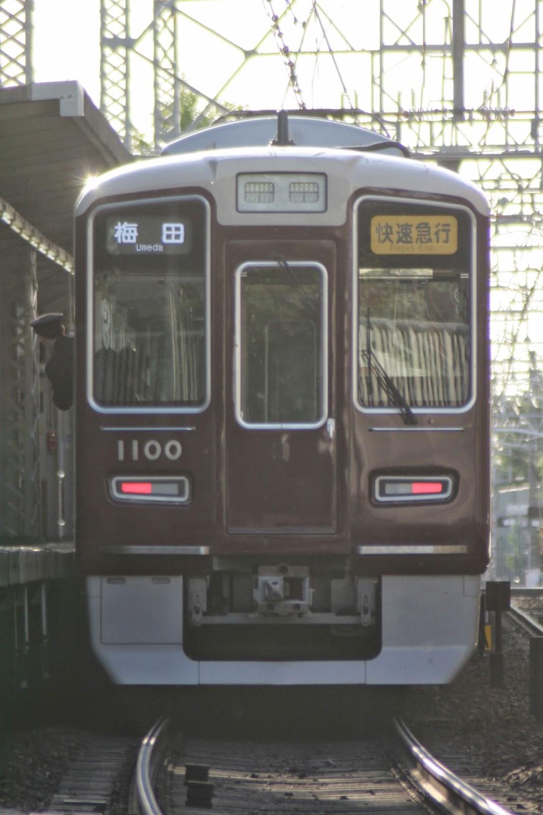 神戸線朝の上り快速急行・K3060の撮影。