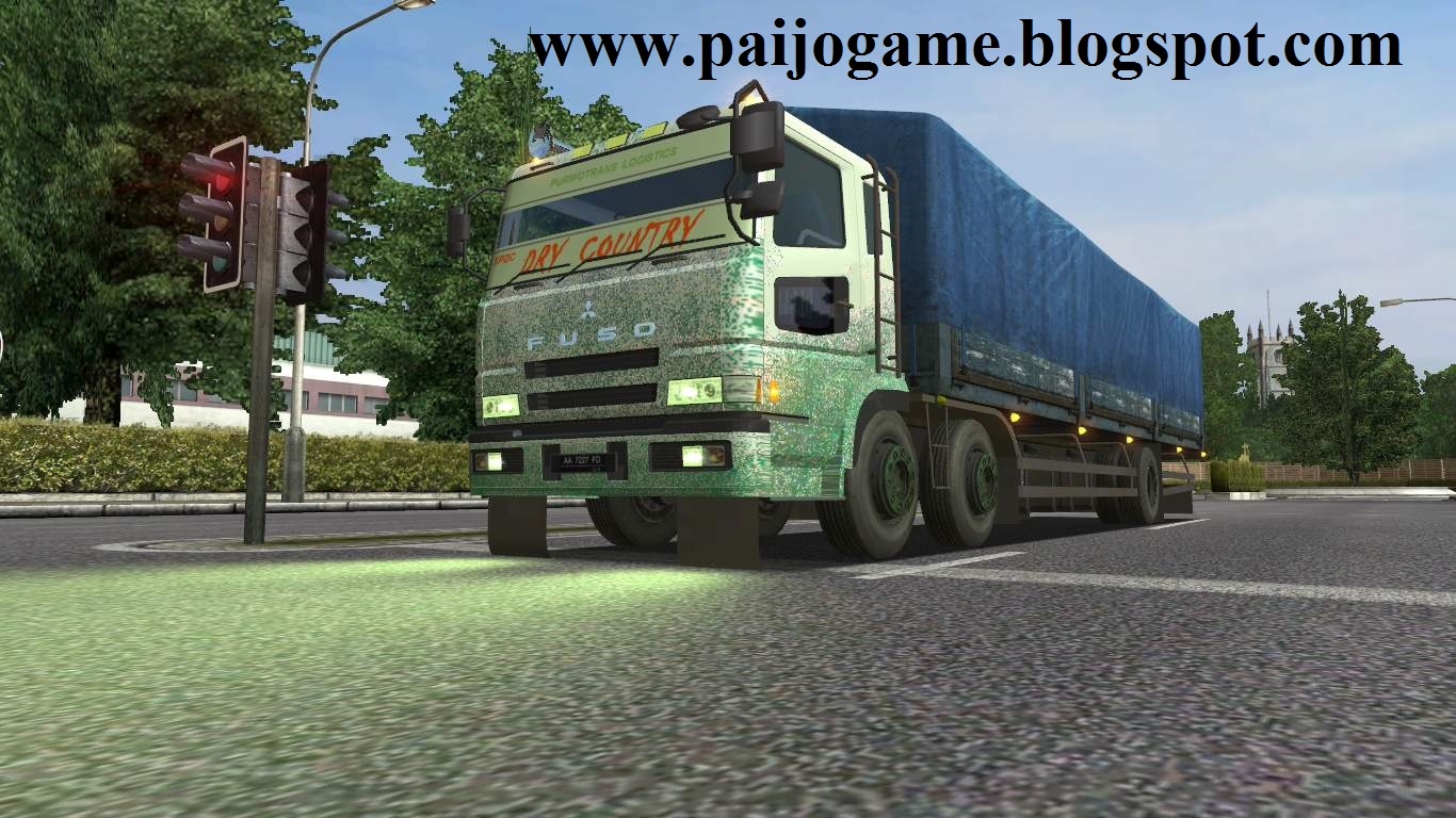 download FUSO SUPER GREAT 6X2 FRONT TANDEM AXLE FOR UKTS 1.32