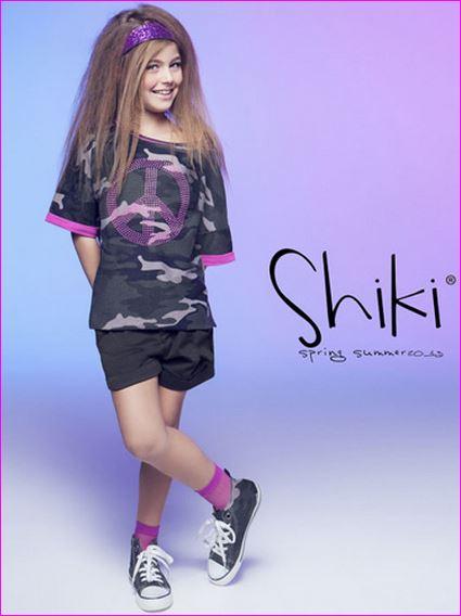 i ragazzi indossano il marchio shiki.
